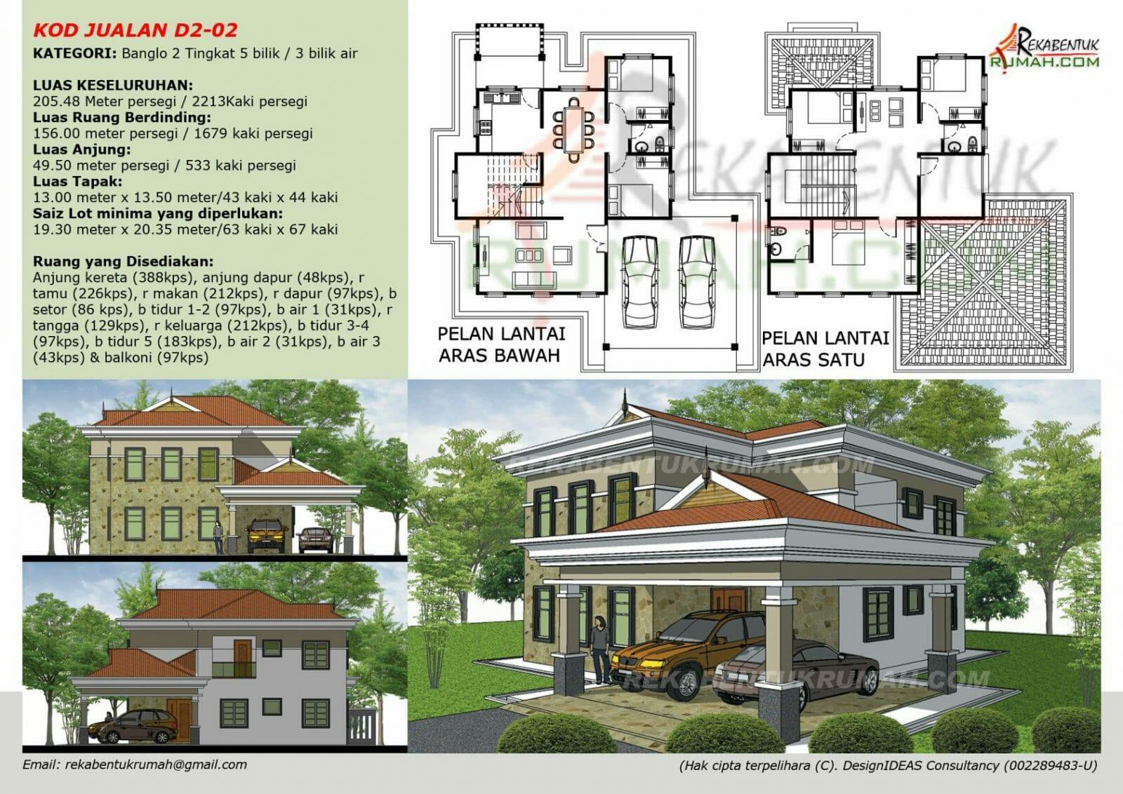 Plan D2 02 2 213 Sqf